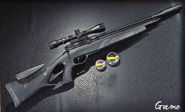 Pcp Airgun Gamo Coyote Black Whisper