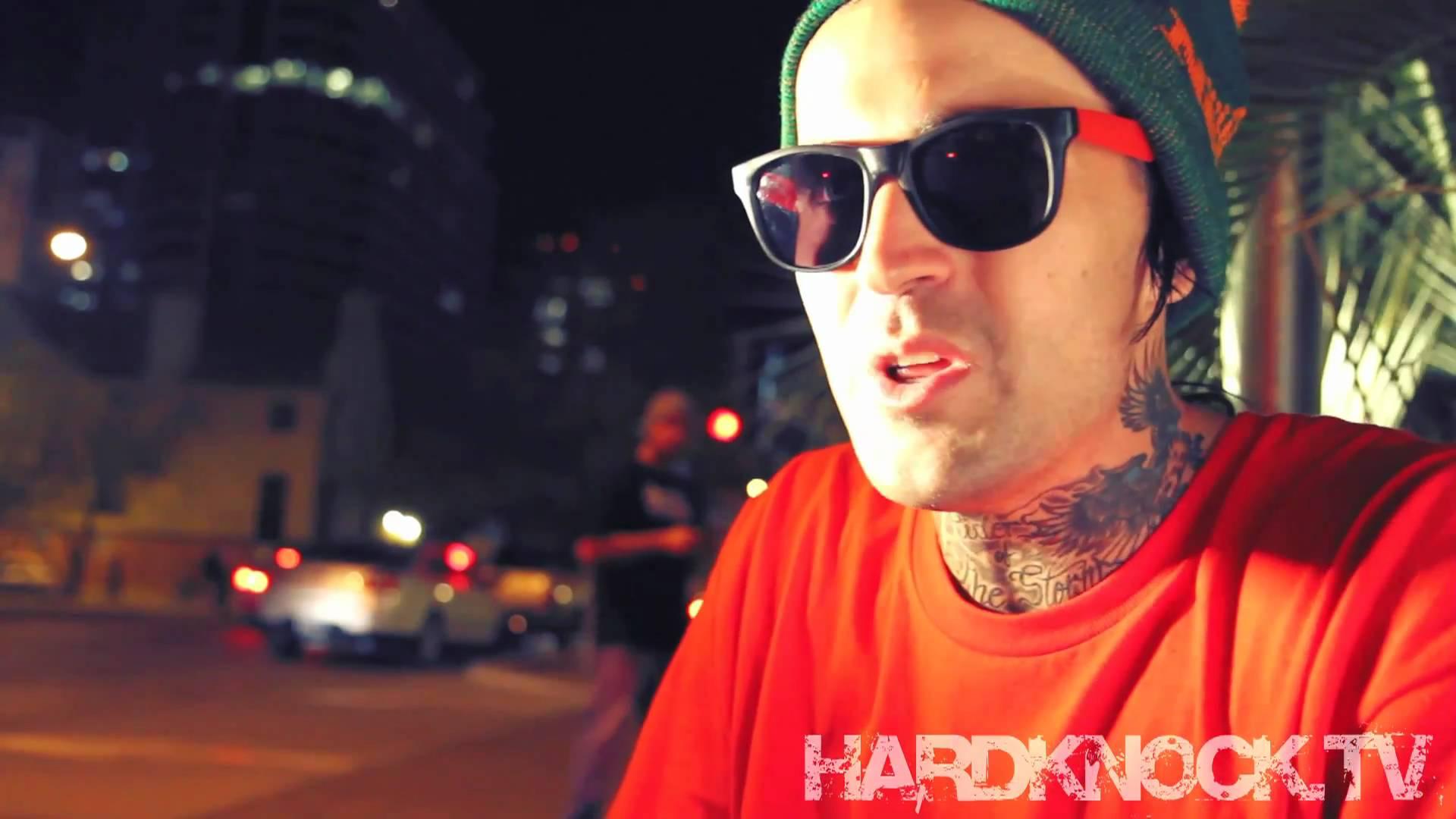 Yelawolf talks BOB, Wiz Khalifa, being Hip Hop + Shots w/Fans interview by Nick Huff Barili