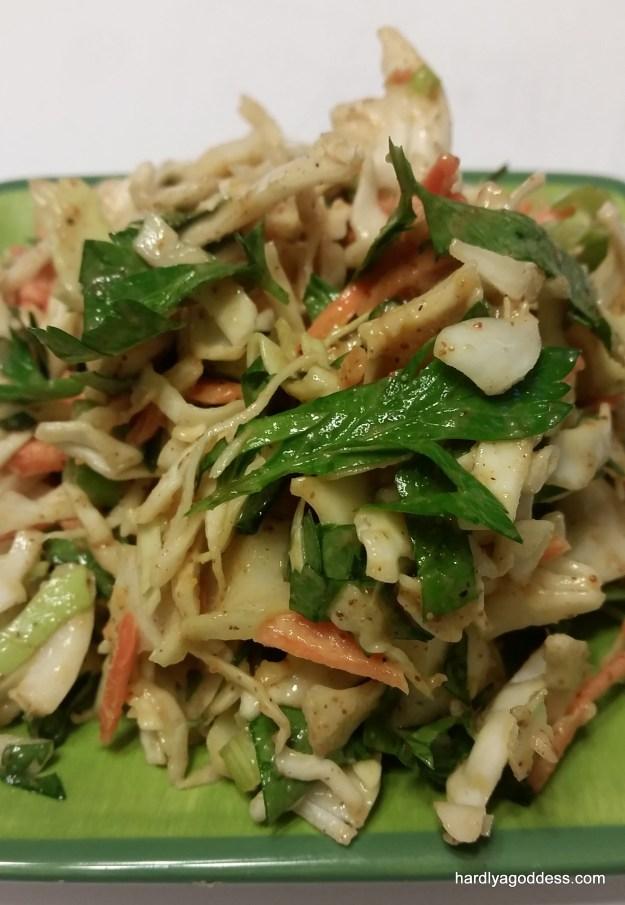 Clean Eating Thai Coleslaw