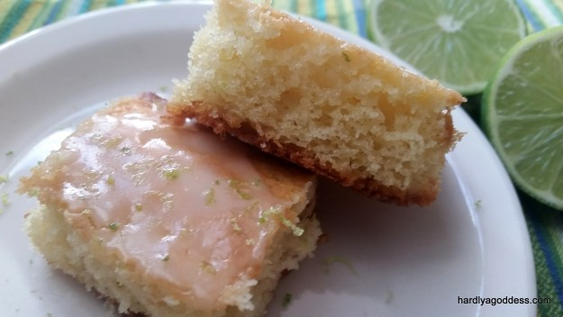 Iced lime bars from Mary Berry