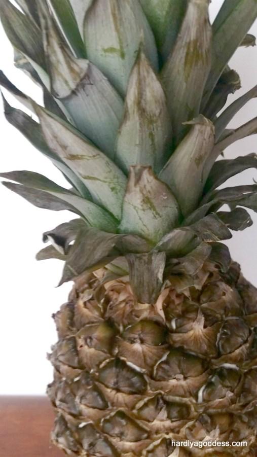 No-Mayo Pineapple Broccoli Slaw