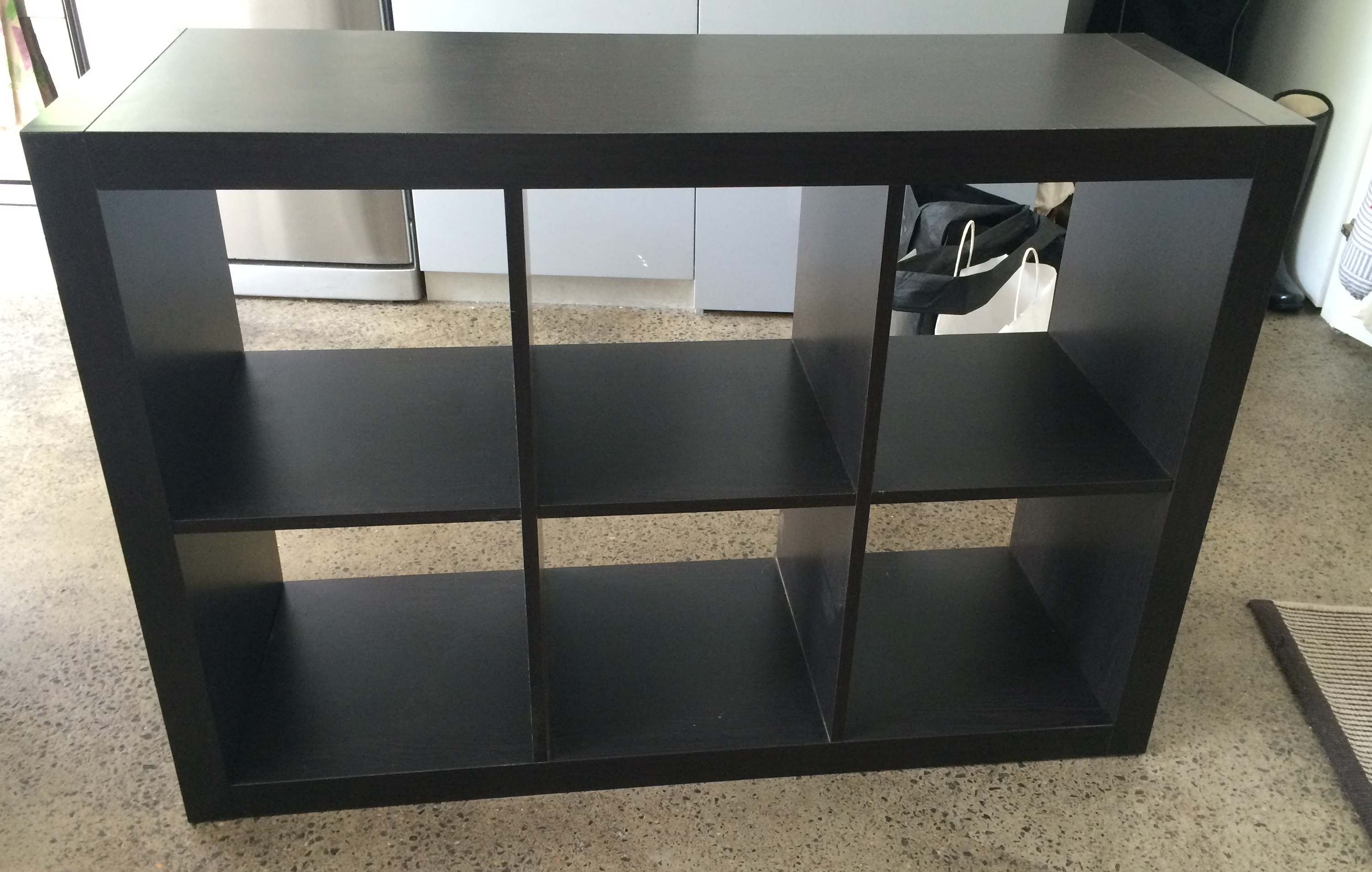 Ikea Expedit Cut In Half Shelves Hardly Handy