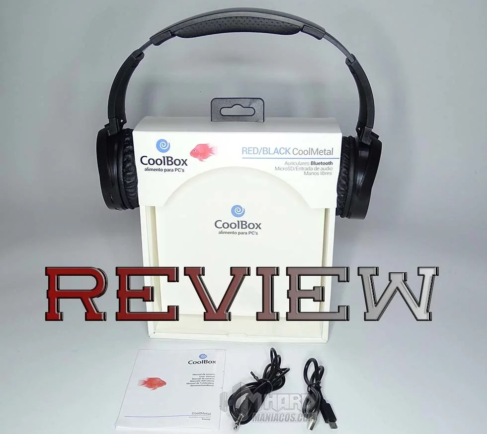 Auriculares Manos Libres Movil Review Coolboox Coolmetal Auriculares Bluetooth Hardmaniacos