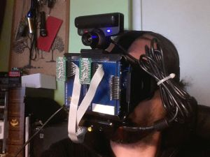 OpenHMD – le casque VR do-it-yourself, Mark I : assemblage