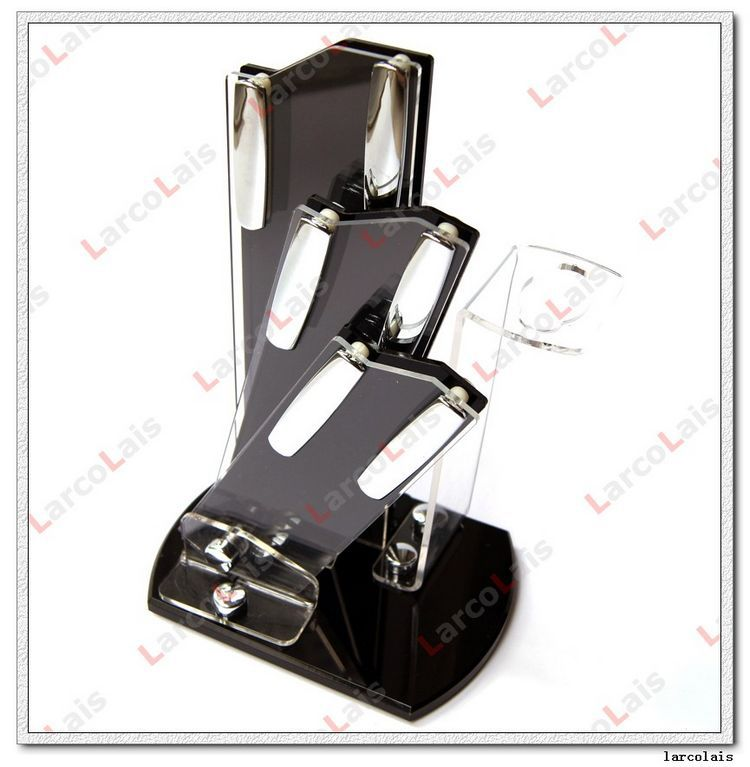 high quality larcolais ceramic knife sets peeler high quality kitchen knife cleaver titanium golden stainless steel