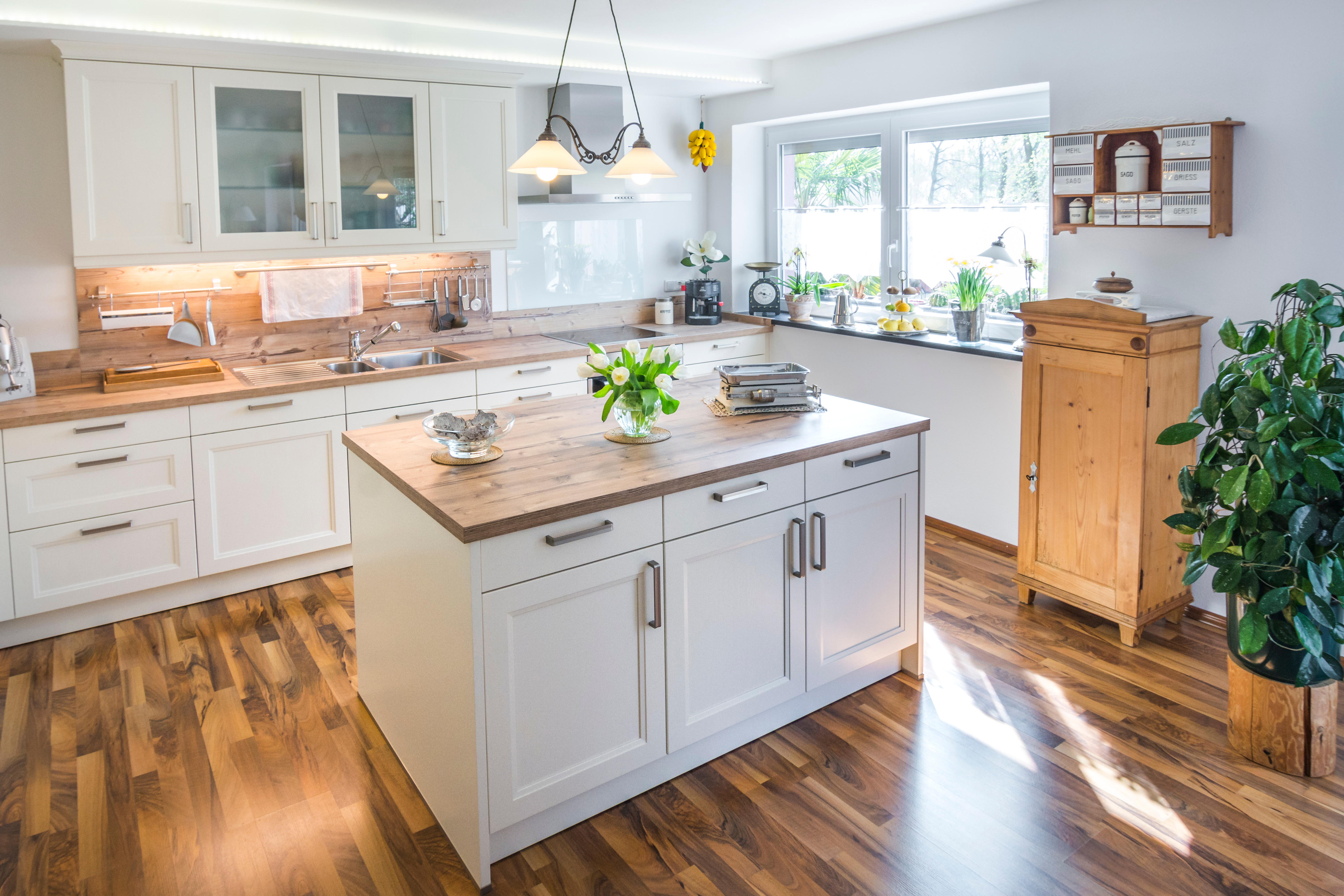 3 Ways To Complement A Butcher Block Countertop In Your Kitchen Hardwood Lumber Company
