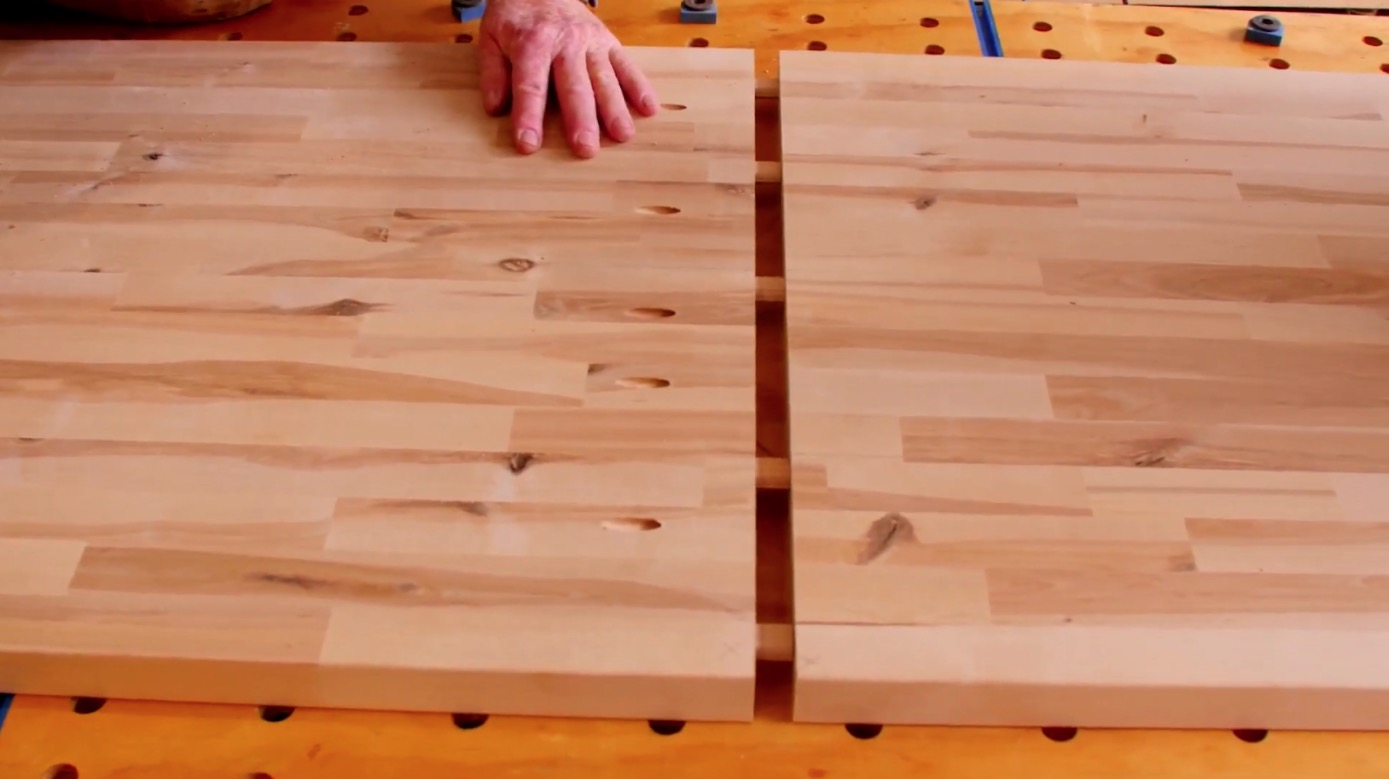 How To Connect And Adjoin Hardwood Reflections Butcher Block Hardwood Reflections