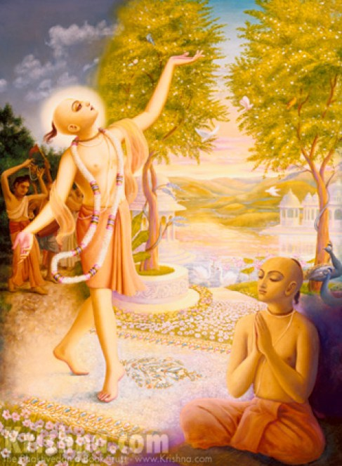 Lord Chaitanya has descended with the medicine of the Holy Name to cure our disease of material attachment