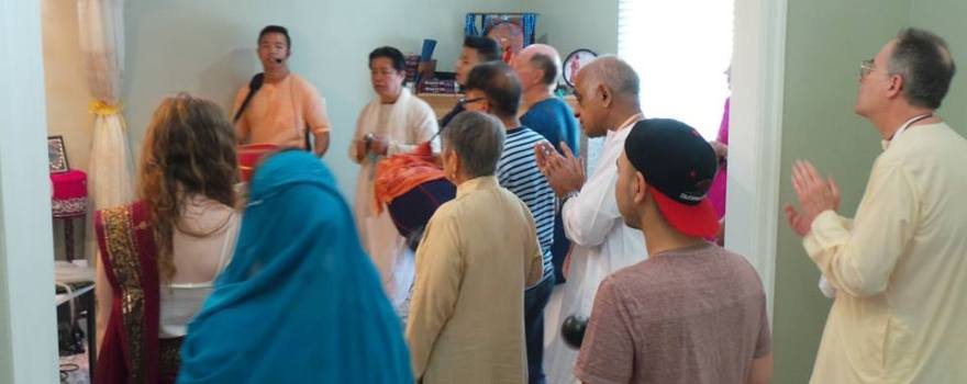 Vancouver Krishna Balaram Temple Sunday Feast - July 3, 2016