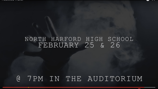 """Heroin's Impact Reflected in Free Performances of """"Addicted""""; Original Play Featuring North Harford High School Students"""
