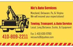 Harford County Living's Business of the Week – Nic's Auto Service