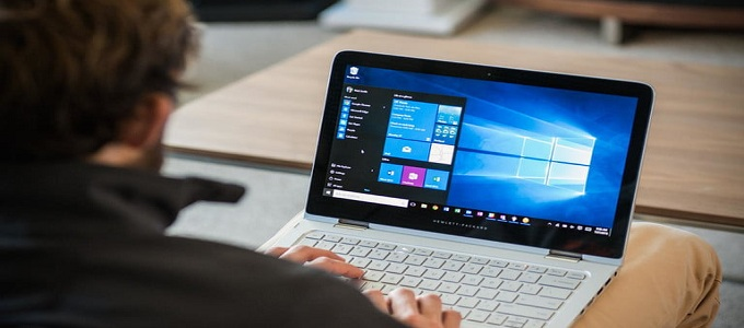 Ilustrasi: Tampilan Home Screen Windows 10 (credit: Greg Mombert/Digital Trends)