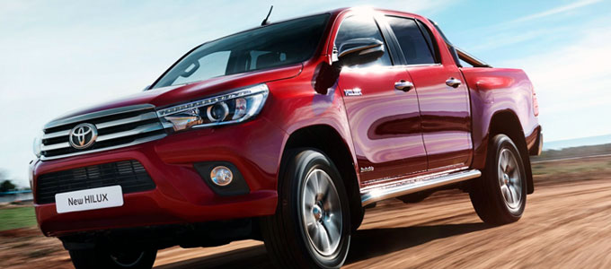 Toyota Hilux Double Cabin 2016 (sumber: carmagazine.co.uk)
