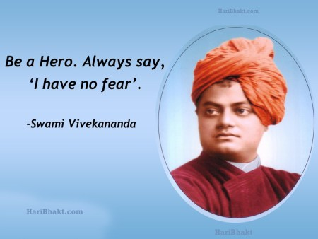Swami Vivekanand was Brave and Intelligent