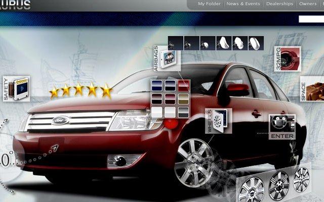 Ford Taurus – Website