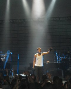 John Legend performs at Harlems Apollo Theater