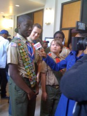 Boy Scouts of Harlem captures future leaders