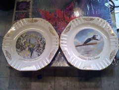 Porcelain Plates from Norway
