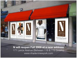 N Boutique relocating to Lenox Avenue