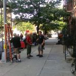 NBCs Law & Order Filming in Harlem