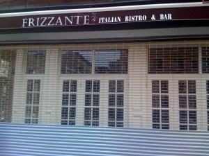Harlems Frizzante Italian Bistro opens....finally