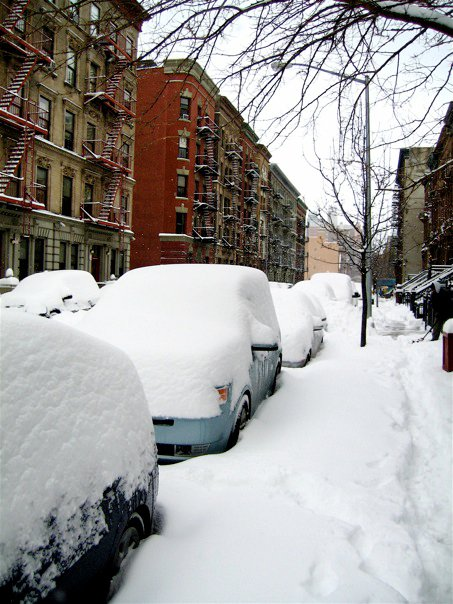 Harlem digs out.