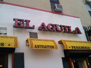 Grab a Bite at El Aguila in Spanish Harlem