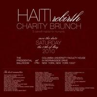 Haiti Rebirth Charity Brunch to be held at Columbia University