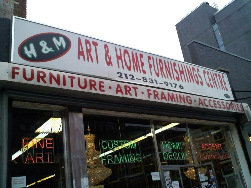 h m1 Art & Furniture In Harlem
