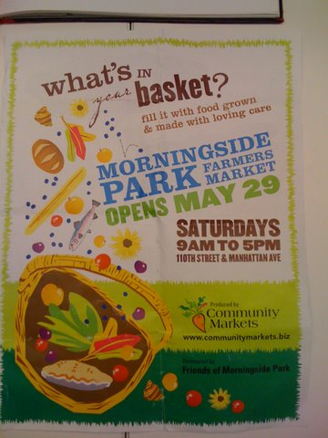 Visit The Farmers Marker in Harlem's Morningside Park This weekend!!!