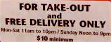 HARLEM / DELIVERY & TAKE OUT