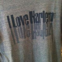Swing by in Harlem to get your 'I love Harlem' t-shirt