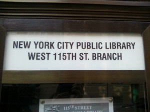 A Neighborhood Library in Harlem