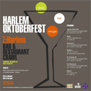  Experience: Harlem hosts bar and restaurant crawl