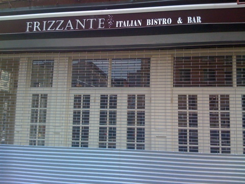 Frizzante in Harlem closed for couple of days