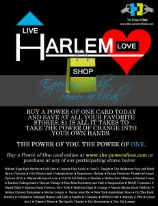 Live. Love. Shop Harlem!