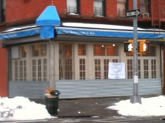 20110204 120305 UPDATE: Lido in Harlem misses signage date, next goal to open before Valentine's Day