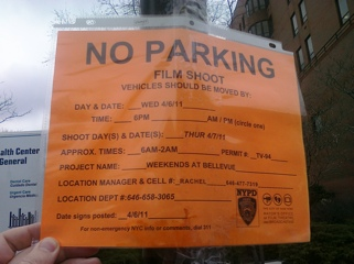 Weekends at Bellevue is filming weekdays in Harlem