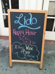 Happy hour now available at Lido Restaurant Harlem, lunch to be offered starting April 14