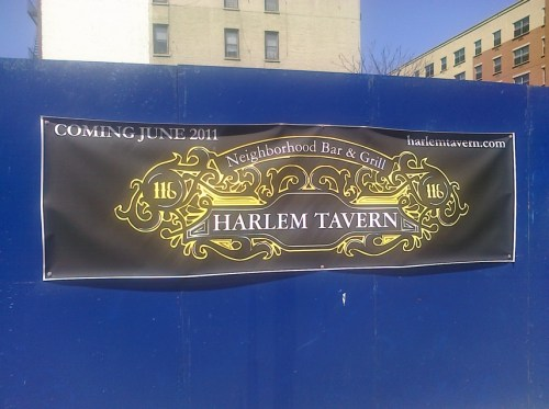 Harlem Tavern coming June 2011