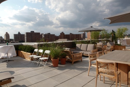 110726 88morningside 1607 88 MORNINGSIDE IN HARLEM, Unveils breathtaking rooftop terrace
