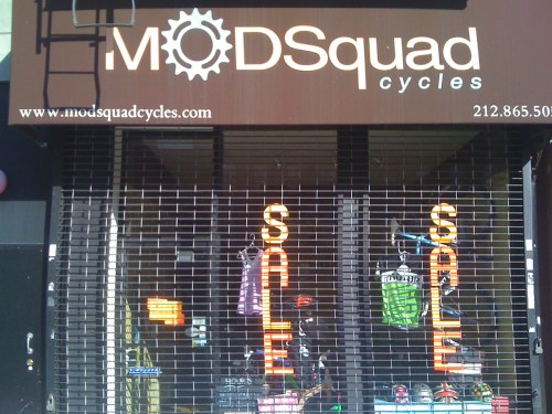 Sale on Bikes at ModSquad In Harlem