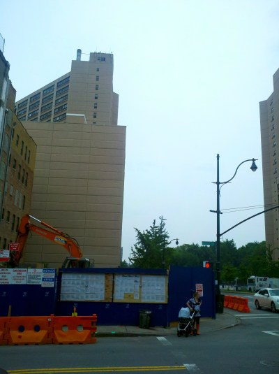 New Construction on 110th and Manhattan   UPDATE
