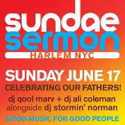 373671 347997965273918 1137426670 n Sundae Sermon kicks off the season with a funky tribute to Dads