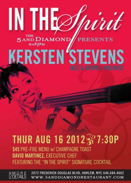 The 5 And Diamond Presents Kersten Stevens
