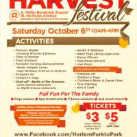 The Harlem Harvest Festival - Saturday, October 6th