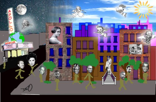 Winner Of The Corner Social Mural Contest In Harlem Is...