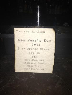  What are you doing New Years Eve? The Harlem Menu... 