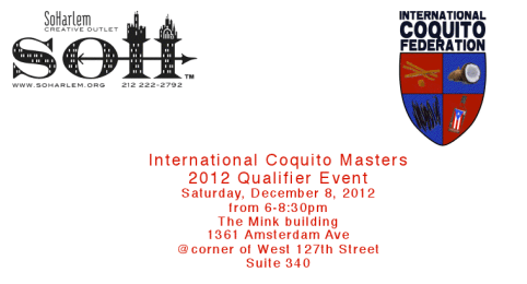 International Coquito Masters Qualifier Event   Who Makes the Best Coquito?