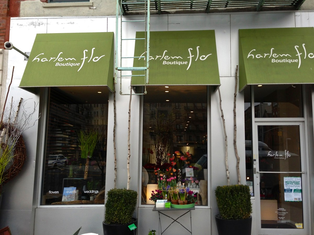 Harlem Flo - a flower boutique in Harlem